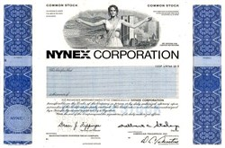 NYNEX Corporation - New York and New England Telephone merger - (World Trade Center Vignette)  - Delaware