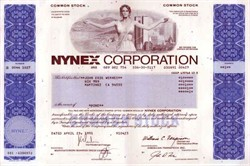 NYNEX Corporation ( New York and New England Telephone merger ) - Pre 9/11 World Trade Center in Vignette