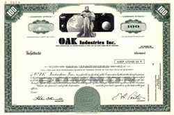 "OAK Industries Inc. - Early Cable TV Converter and Subscription ""On TV"" Company"