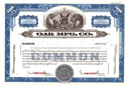Oak Manufacturing Company ( Early Cable Converter Maker )