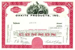 Oakite Products, Inc.