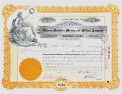 Oatman Southern Mining and Milling Company - Arizona 1916