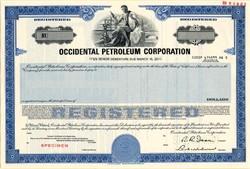 Occidental Petroleum Corporation - California 1986