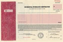 Occidental Petroleum Corporation - Delaware 1986