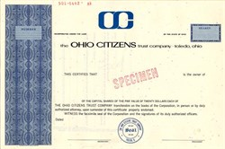 Ohio Citizens Trust Company - Toledo, Ohio