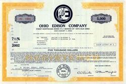 Ohio Edison Company ( Now FirstEnergy Corp. )