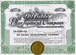 Oil Fields Development Company - Arizona 1917