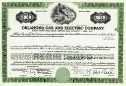 Oklahoma Gas and Electric - 1968