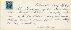 Old Colony and Newport Railroad Note - Boston 1866