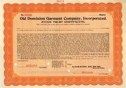 Old Dominion Garment Company