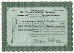 Old Eureka Mining Company - 1918