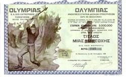 Olympias S.A. des Entreprises Forestieres - Greece 1935