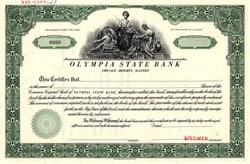 Olympia State Bank - Chicago Heights,  Illinois