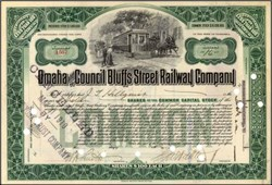 Omaha and Council Bluffs Street Railway Company 1905-1907