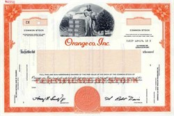 Orange-co, Inc.
