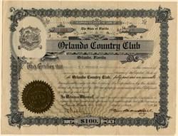 Orlando Country Club - Florida 1926