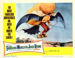 Originial Fabulous World of Jules Verne Lobby Card - 1961