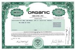 Organic, Inc. ( Dot.com advertising agency pioneer) - Delaware 2001