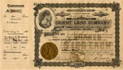 Orient Land Company - Missouri 1918