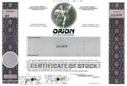 Orion Pictures Corporation - 1984