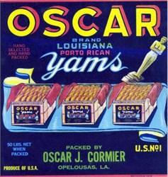 Oscar Crate Label - Acadamy Award Image