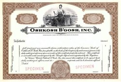 Oshkosh B'Gosh - Famous Clothing Maker