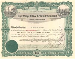 Osage Oil & Refining Company - South Dakota