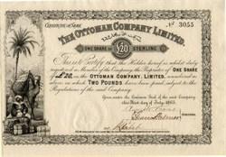 Ottoman Company Limited - 1865
