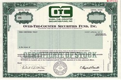 Over-The-Counter Securites Fund, Inc. - Pennsylvania 1986