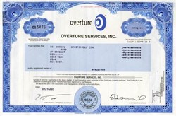 Overture Services, Inc. (  Acquired by Yahoo  )
