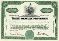 Pacific Airmotive Corporation - California