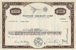 Palisade Aircraft Corp. - New Jersey 1969