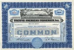Pacific American Fisheries, Inc. - Delaware 1948