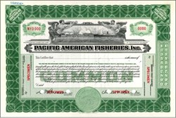 Pacific American Fisheries, Inc. 1928 - Puget Sound / Alaska