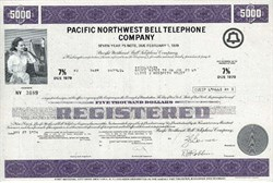 Pacific Northwest Bell Company 1970's ( U.S. West Company ---> Became Qwest )