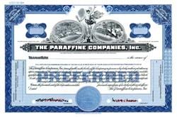 Paraffine Companies, Inc. SPECIMEN - Delaware