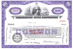 Parkersburg Aetna Corporation - West Virginia 1963