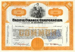 Pacific Finance Corporation of California  ( Now Transamerica )