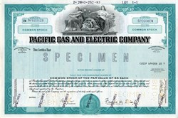 Pacific Gas and Electric Company - California