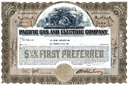Pacific Gas and Electric Company - San Francisco, California 1926