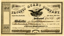 Pacific Guano Company - San Francisco, California 1873