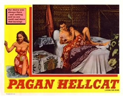 Pagan Hellcat Lobby Card