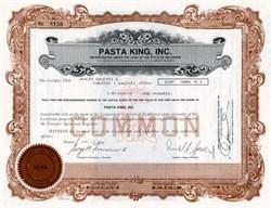 Pasta King, Inc. - Delaware 1979