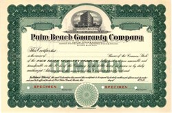 Palm Beach Guaranty Company