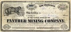 Panther Mining Company - CORNUCOPIA, ELKO COUNTY. NEVADA. 1877