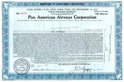 Pan American Airways 1947 ps/Trippe
