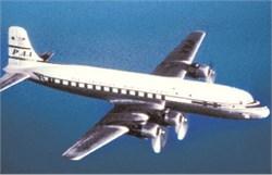 Pan American Airways Postcard DC4 - 1946 Image