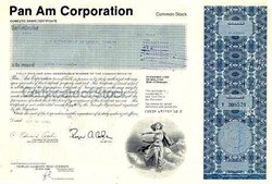 Pan Am Corporation 1980's