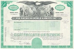 Pan American World Airways - Pre Bankruptcy