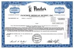 Pancho's Mexican Buffet, Inc.